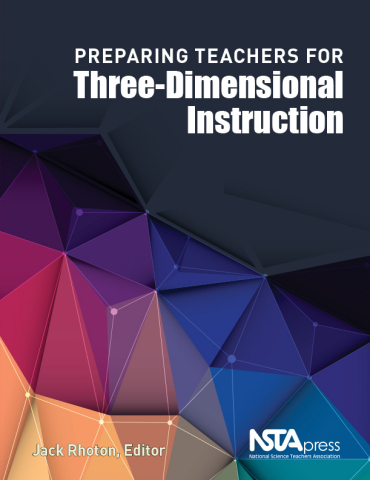 Preparing Teachers for Three-Dimensional Instruction book cover (Photo: Business Wire)