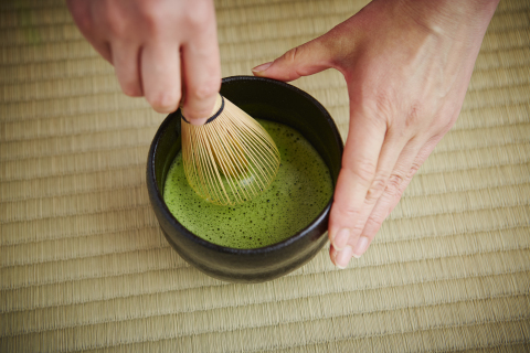 See and learn how to make Matcha tea by our tea master (Photo: Business Wire)