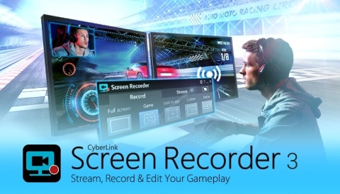 CyberLink Screen Recorder 3 (Graphic: Business Wire)