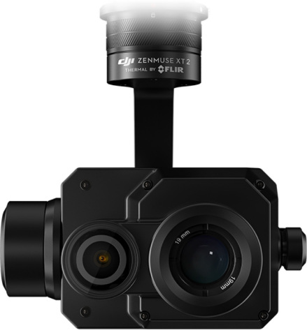Dual-sensor DJI Zenmuse XT2 with Thermal by FLIR (Photo: Business Wire)