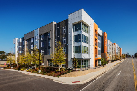 The Lofts at College Hill, a 194-bed purpose-built student housing property serving Mercer University in Macon, Georgia. (Photo: Business Wire)