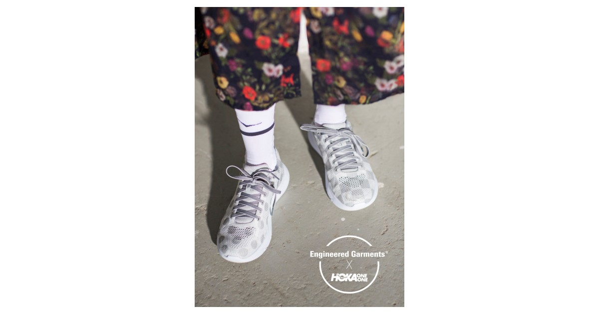 Business Wire Hoka One A Division Of Deckers Brands Nyse Deck Has Announced Its Partnership With American And Anese Inspired Fashion Label