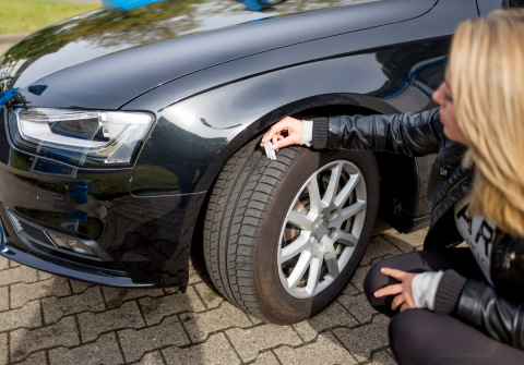 If you see signs of damage or irregularities, and of course if the tread depth is less than the reco ...