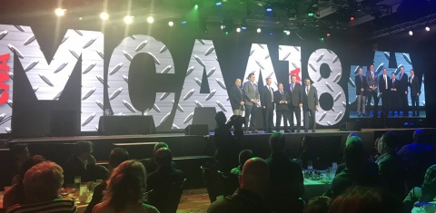 Gardena, CA-based Xcel Mechanical Systems recognized as the Safest Commercial Mechanical and Plumbing Contractor in the U.S. on Wednesday during MCAA Convention in San Antonio, Texas (Photo: Business Wire)