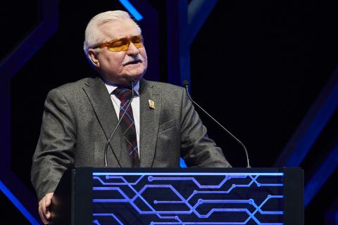 Lech Wałęsa - guest of honour (Photo: AETOSWire)