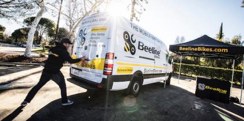 Beeline Bikes: Mobile Bike Service (Photo: Business Wire)