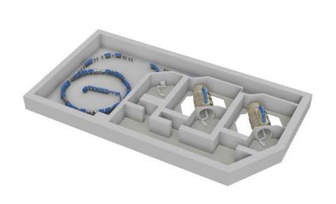 Image of heavy-ion therapy system (Graphic: Business Wire)