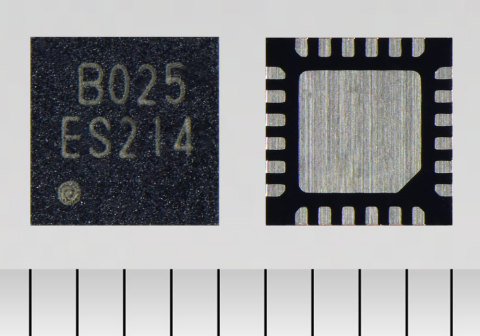 """Toshiba: A three-phase brushless motor driver IC """"TC78B025FTG"""" with a rotation speed control (closed loop control) function for small fans. (Photo: Business Wire)"""