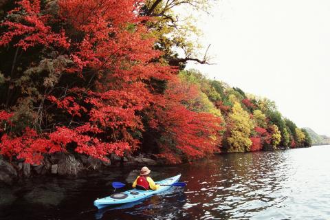 Lake Chuzenji Kayak Tours (Photo: Business Wire)
