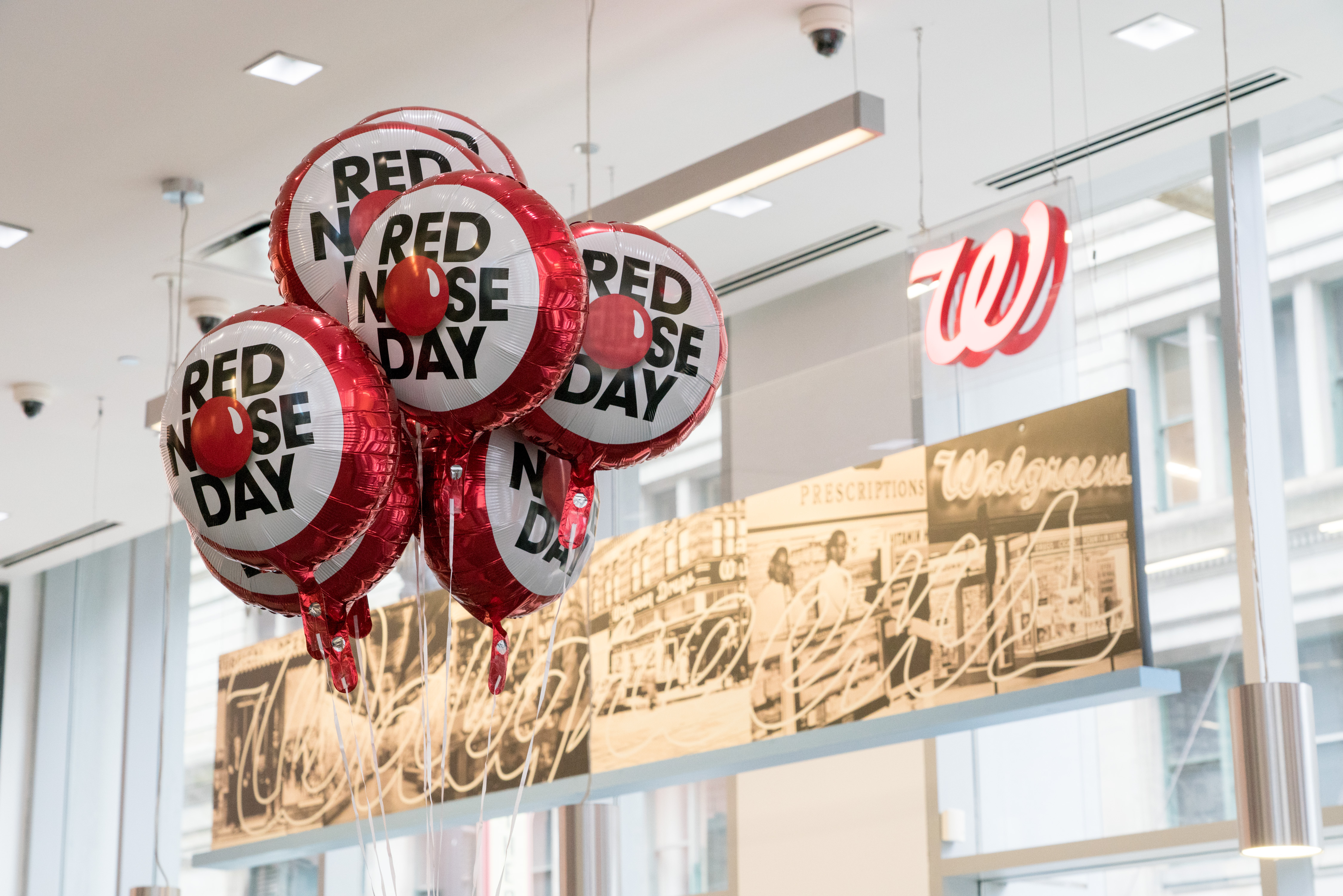 bc725c04d99a05 Noses On! Walgreens Welcomes Red Nose Day Back to America as the Exclusive  Retailer of the New Sparkle Red Nose | Business Wire