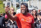 Actor, comedian and Rally Health Ambassador Kevin Hart at the San Francisco HealthFest. (Photo: Business Wire)