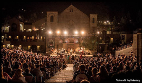 The iconic Mountain Winery Amphitheatre. Photo by Jay Blakesberg