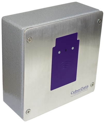 CyberData's SIP RFID Access Control Endpoint (Photo: Business Wire)