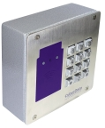 CyberData's SIP RFID/Keypad Access Control Endpoint (Photo: Business Wire)