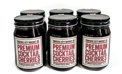 Traverse City Whiskey Co. Today Unveils Line of All-Natural Premium Cocktail Cherries With Regional Supermarket Chain Meijer. (Photo: Business Wire)