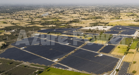 Azure Power Solar Plant (Photo: Business Wire)