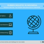 Rubber Manufacturers in Indonesia – BizVibe Announces a New B2B Networking Platform for the Rubber Industry in Indonesia