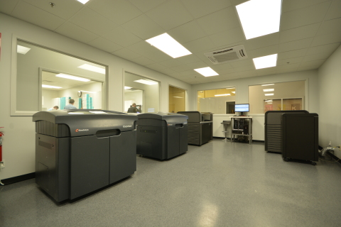 Missouri-based DynaFlex leverages the speed of Stratasys' J700 Dental 3D Printer to rapidly produce highly accurate, clear aligner molds on-demand. (Photo: Business Wire)
