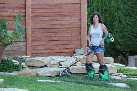 ComfortTrim Kickstarter Launches Yardwork Trimming Protection that Works (Photo: Business Wire)