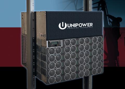 UNIPOWER Announces M42 Guardian Bulk 1200A DC Power System (Photo: Business Wire)