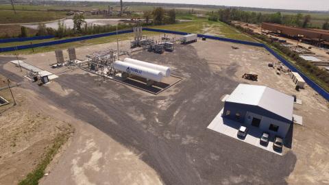 NuBlu Energy Port Allen Liquefaction Facility (Photo: Business Wire)