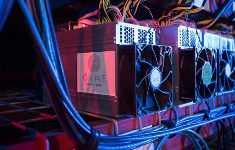 Get Smart: Ormeus Coin is secured by an industrial cryptocurrency mining business linked by smart contract to the Ormeus Reserve Vault (Photo: Business Wire)