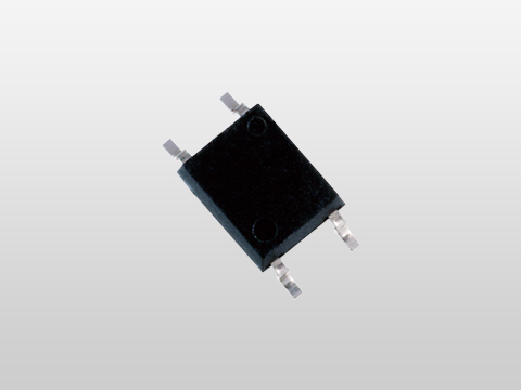 "Toshiba: A new photorelay ""TLP176AM"" in a small 4-pin SO6 package which has a rated on-state output terminal voltage of 60V and a rated on-state current of 0.7A. (Photo: Business Wire)"