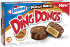 Hostess Peanut Butter Ding Dongs are a triple threat of peanut butter combining the sweet taste of peanut butter cake with a peanut butter creamy filling and then peanut butter drizzle over rich fudge. (Photo: Business Wire)