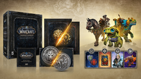 World of Warcraft: Battle for Azeroth Collector's Edition contains an array of extras for Blizzard g ...