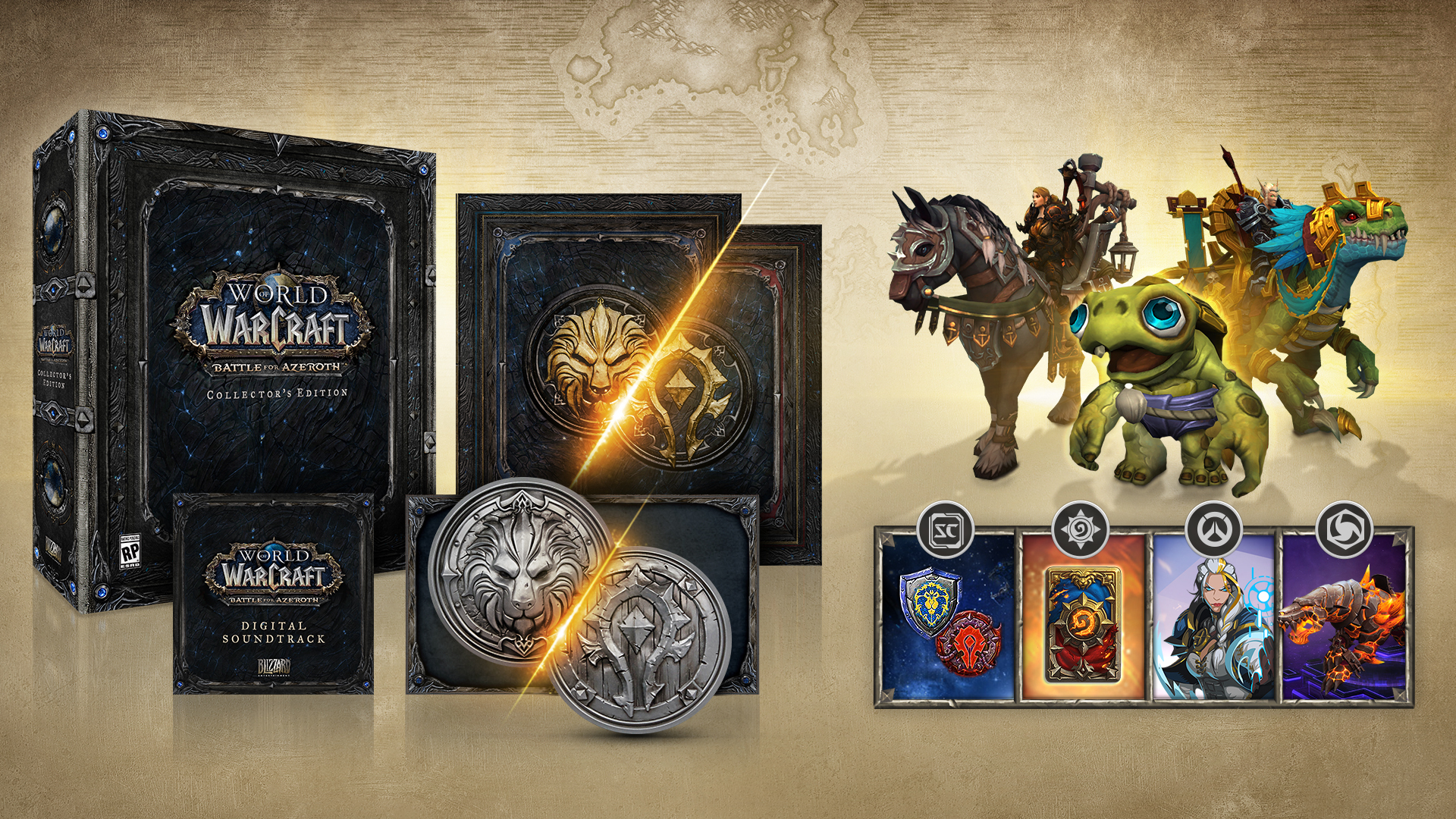 Prepare To Join The Battle For Azeroth New World Of Warcraft