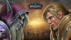 Sylvanas Windrunner and Anduin Wrynn face off in World of Warcraft: Battle for Azeroth. (Graphic: Business Wire)