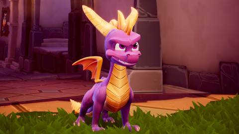 Spyro™ is back and bringing the heat in Spyro™ Reignited Trilogy. Launching on September 21, just in time to celebrate the 20th anniversary of the beloved purple dragon, Spyro Reignited Trilogy will be available on PlayStation® 4 and Xbox One. (Graphic: Business Wire)