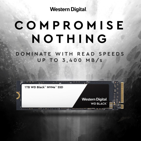 Western Digital ups the game with powerful new gaming SSD with NVMe performance (Graphic: Business Wire)