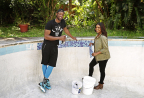 Actress Gabrielle Union and NBA Champion Dwyane Wade Team up for a Home Renovation in New HGTV Special 'All-Star Flip' (Photo: Business Wire)