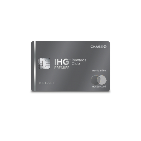 IHG Rewards Club Premier Credit Card (Photo: Business Wire)