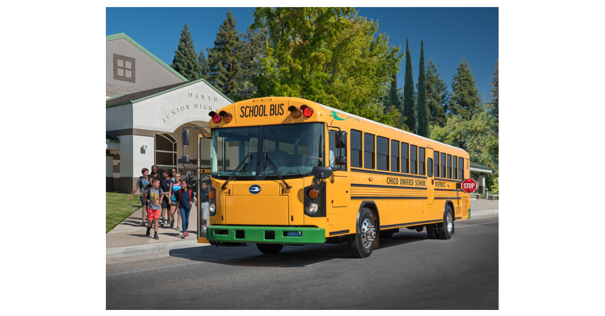 Blue Bird Electric School Buses Take to the Road and Taking
