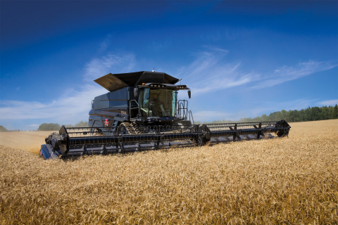 IDEAL from Massey Ferguson is a completely new, high performance combine harvester range designed using requirements taken directly from farmers and operators around the world and firmly focussed on delivering significant gains in productivity and output. (Photo: Business Wire)
