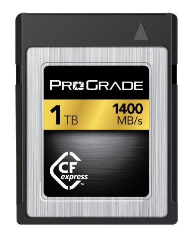 ProGrade Digital is First To Publicly Demonstrate CFexpress 1.0 Technology in 1TB Capacity at NAB (Photo: Business Wire)
