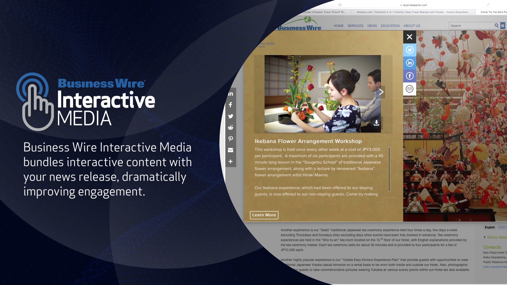 Business Wire Launches New Interactive Media Service (Photo: Business Wire)