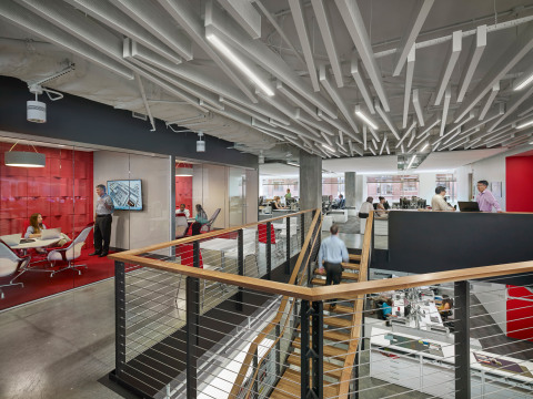 HDR's Arlington, Virginia office is its first Fitwel-certified office and received a 3 Star Rating, the highest possible in the system. (Photo: Business Wire)