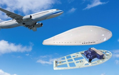 Astronics AeroSat FliteStream SATCOM connectivity & AeroShield radome systems are now available for the Boeing B737NG. (Photo: Business Wire)