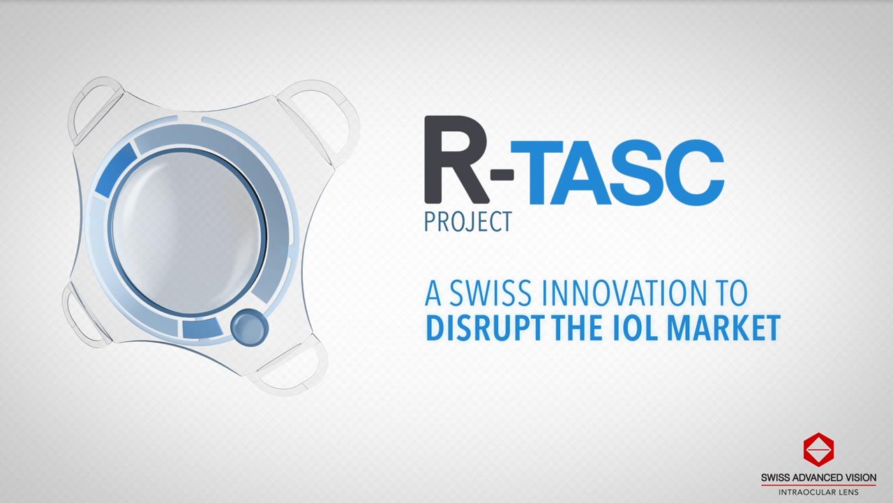 R-TASC Project - An Active Intraocular Lens for Cataract Surgery (Video: SAV-IOL)