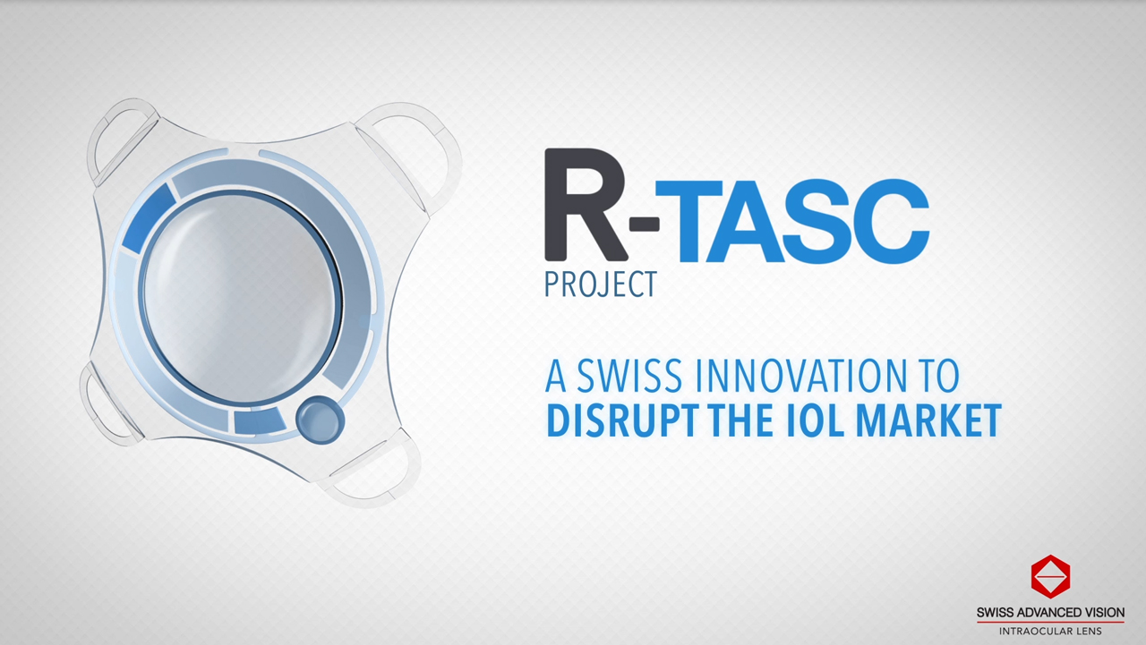 R-TASC Project - An Active Intraocular Lens for Cataract Surgery (Video: SAV-IOL)