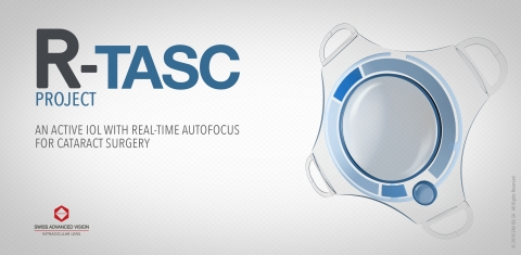 R-TASC Project - An Active Intraocular Lens for Cataract Surgery (Photo: SAV-IOL)