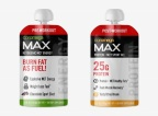 Coromega®, maker of delicious emulsified fish and vegetarian oils designed to provide healthy fats for a healthy life, today announced the debut of Coromega Max Liquid Protein (Citrus Dream flavor) and Coromega Max Pre-Workout MCT Gel (Chocolate Sport flavor). (Photo: Business Wire)