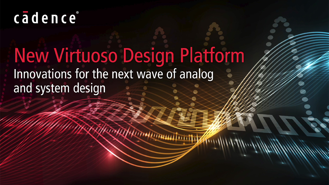 Cadence Vice President of Product Management for Custom IC Solutions, Wilbur Luo, discusses the new Virtuoso custom IC design platform, which combines an enhanced Virtuoso System Design Platform with Cadence's packaging, board, and system analysis expertise to meet complex design needs.