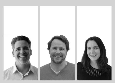Jack Spilberg (left), Matt Schrader, and Rachel Hermansader lead The XD Agency's West Coast expansion. (Photo: Business Wire)