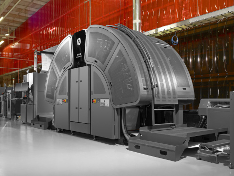 The Pitney Bowes IntelliJet® 20 HD printing system. (Photo: Business Wire)