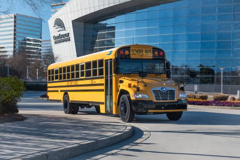 Blue Bird Bus >> Blue Bird Sells Its 2 500th Gasoline Powered School Bus