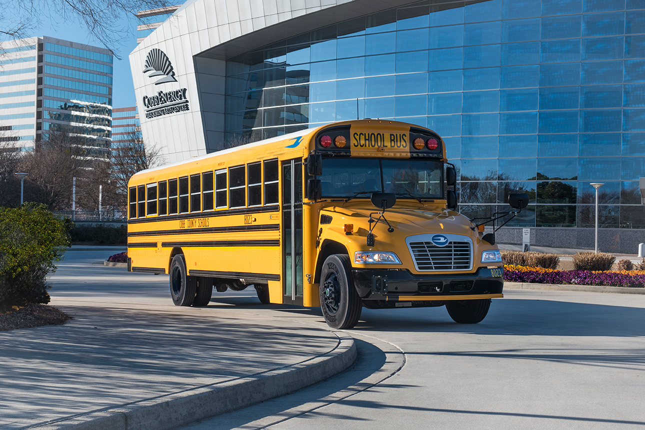 Blue Bird Sells Its 2500th Gasoline Powered School Bus Business Wire